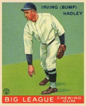 Bump Hadley - Image: Bump Hadley Goudeycard