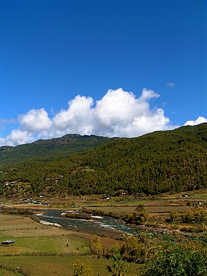 Kingdom of Bumthang - Bumthang countryside