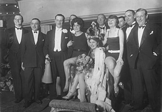 Miss Germany - Hildegard Quandt as first Miss Germany, 1927