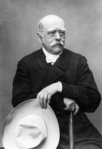 Anti-imperialism - German Chancellor Otto von Bismarck repeatedly let it be known that he disliked imperialism, but German public opinion forced him to build an empire in Africa and the Pacific in the 1880s