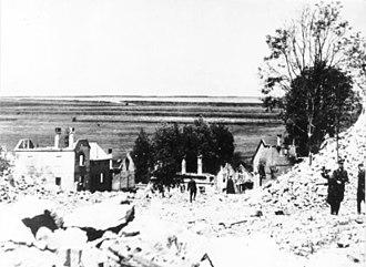 Karl Hermann Frank - Destruction of Lidice