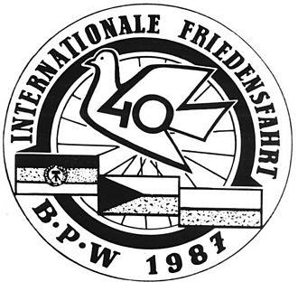 Peace Race - Image: Bundesarchiv Bild 183 1987 0104 004, Friedensfahrt, Logo