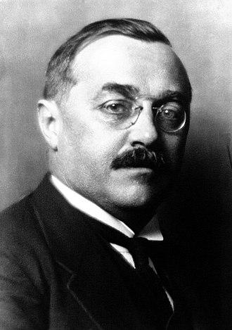 Karl Buresch - Chancellor Buresch in 1932