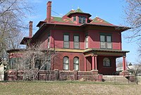 Burkam house (Sioux City) from SE 1.JPG