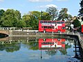 Bus reflection - geograph.org.uk - 1724629.jpg