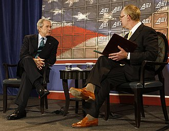 Christopher DeMuth - DeMuth participates in a question-and-answer session with President George W. Bush in 2008