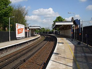 Bushey railway station station serving the towns of Bushey and Oxhey