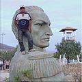 Busto al Gral. Esteban Arze ubicado parque Bicentenario de Cochabamba.jpg