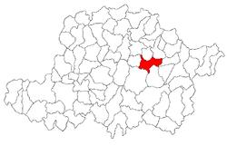 Vị trí của Buteni