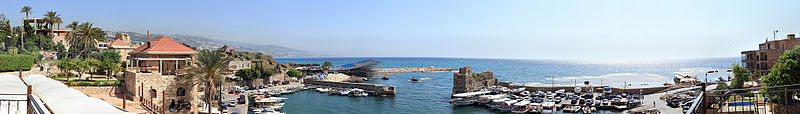 A view of Byblos, Lebanon