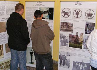 """Jan Liwacz - September 2008, Bystrzyca Kłodzka: the exhibition """"Jan Liwacz 1898-1980 – 110th anniversary of birth"""""""