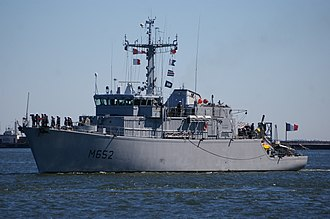 Tripartite-class minehunter - French Tripartite minehunter Céphée
