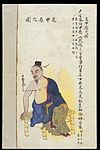 C19 Chinese MS moxibustion point chart; Malign attack Wellcome L0039507.jpg