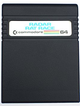 Spelcartridge van Radar Rat Race