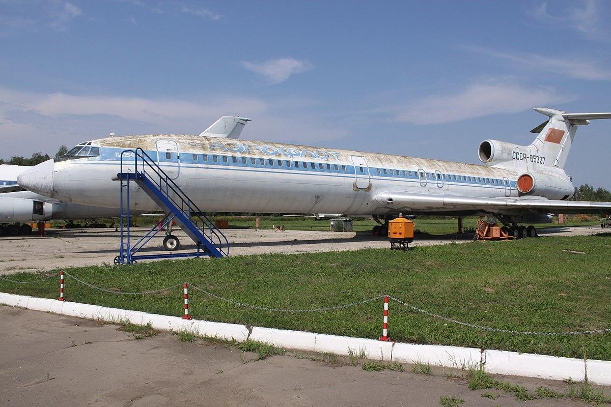 Происшествие с Ту-154 над Домодедовом — Википедия