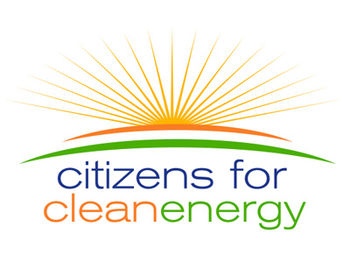 English: Citizens for Clean Energy Logo