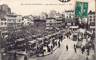 Timeline of Saint-Étienne - Image: CC 60 SAINT ETIENNE La Place du Peuple