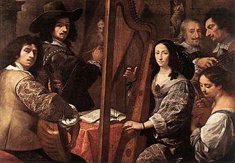 Carlo Francesco Nuvolone - Portrait of the family Nuvolone