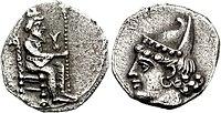 CILICIA, Myriandros. Mazaios. Satrap of Cilicia, 361-0-334 BCE