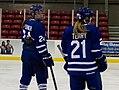 CWHL 2015-01-24 (Natalie Spooner, Kelly Terry).jpg