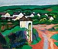 CZIGÁNY Dezső (1883-1937) painter Landscape 1906-08.jpg