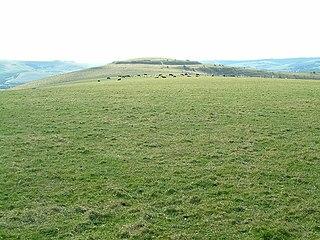 Mount Caburn hillfort in East Sussex