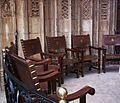 Cadires del Tribunal de les Aigües de València.jpg