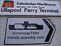 CalMac Ferry Terminal sign - geograph.org.uk - 741335.jpg