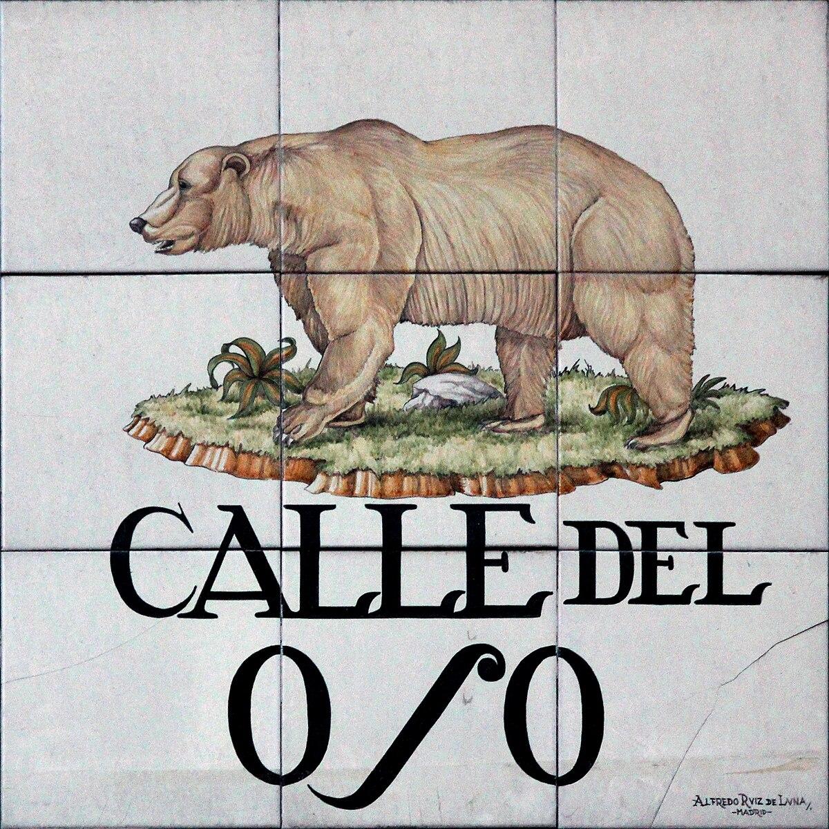 Calle del Oso - Wikipedia, la enciclopedia libre