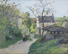 Le Grand Noyer A LHermitage 1875