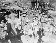 Canadian Forward Dressing Station Battle of the Canal du Nord Sept 1918 IWM CO 3292
