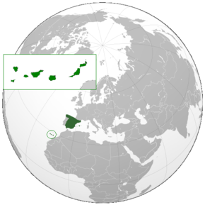 Canary Islands, Spain (orthographic projection).png