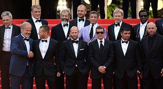 Jason Statham - Statham (center) at the 2014 Cannes Film Festival