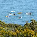 Canoes off Pennance Point (2308643334).jpg