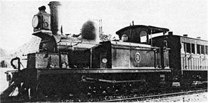 CGR 1st Class 4-4-0T - Image: Cape 1st Class (4 4 0T) 1875 no. 4