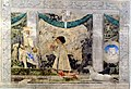 Cappella moderna di destra, affresco di piero della francesca 01.JPG