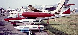 Caproni-Vizzola C-22J Farnborough 1982.jpg