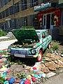 Car Display outside Eden Rose Boutique - Gyumri - Armenia (19300437985) (2).jpg