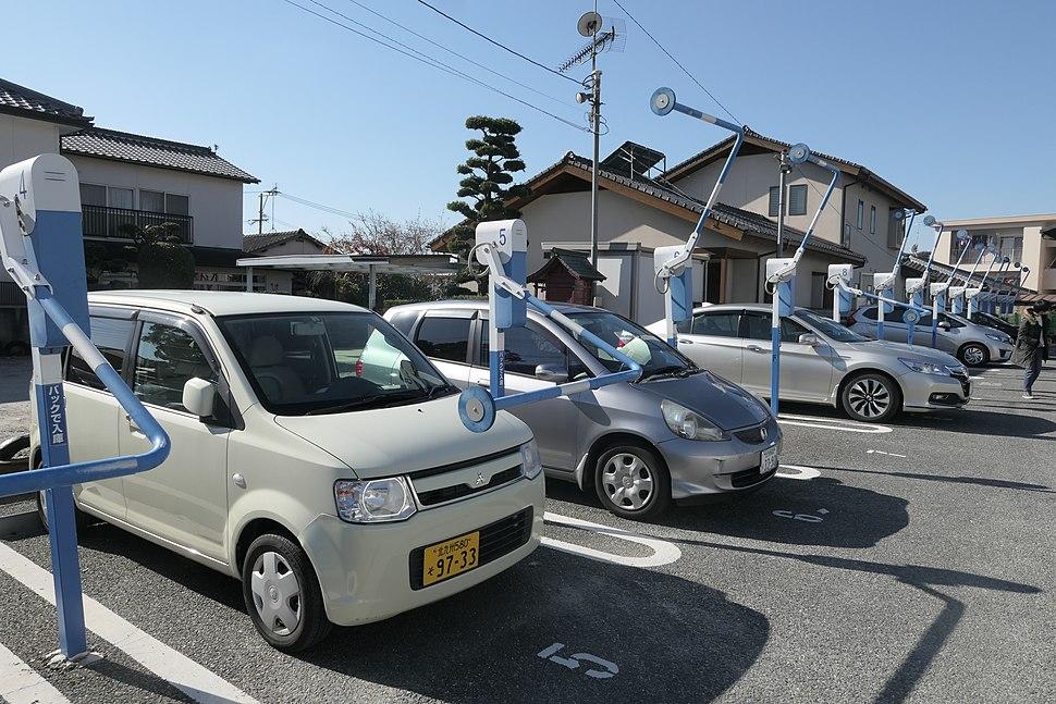Car Park in Dazaifu, Fukuoka