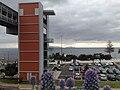 Car park, Funchal airport, Madeira.jpg