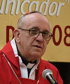 Jorge Bergoglio jako kardynał, 2008