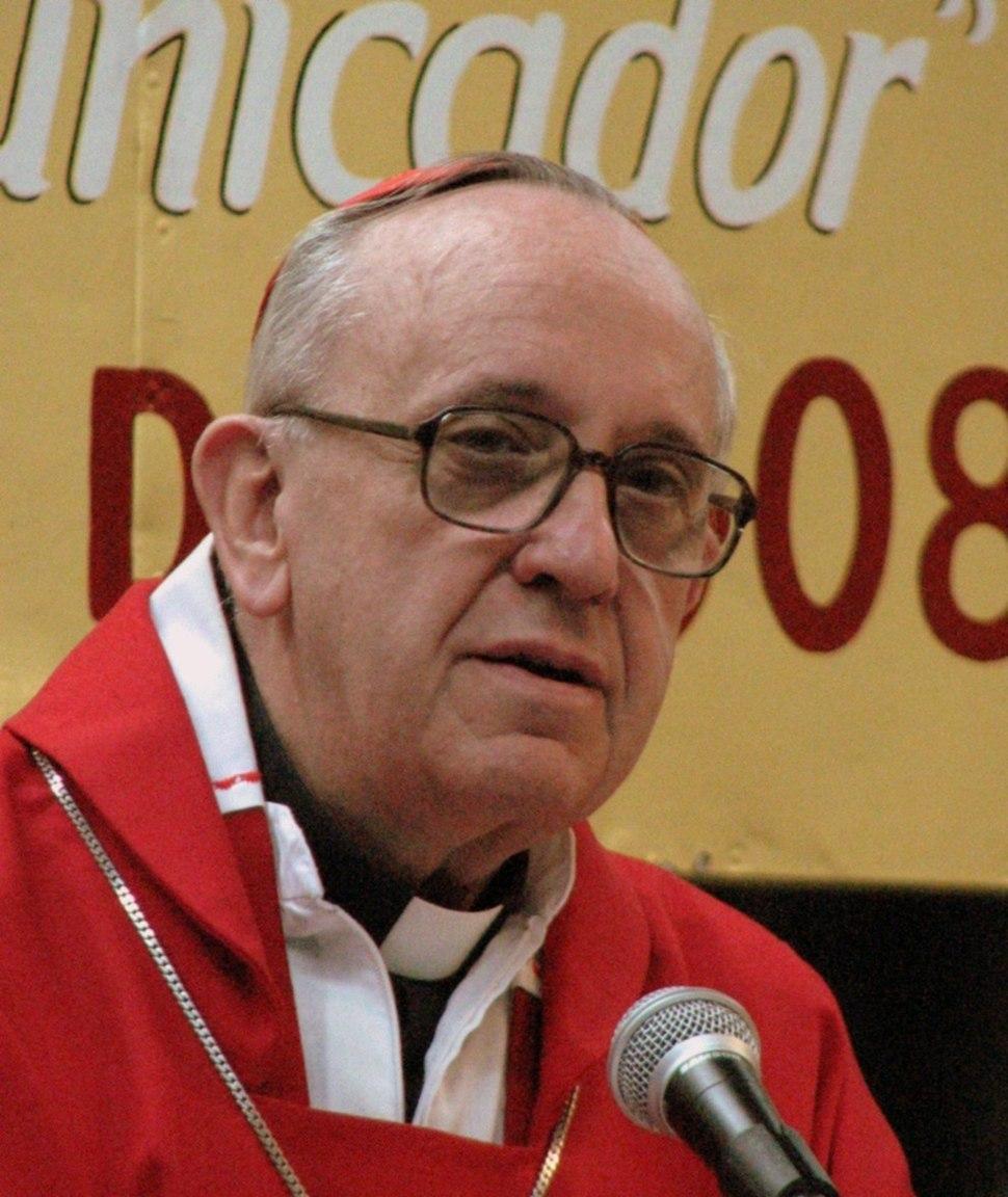 Card. Jorge Bergoglio SJ, 2008