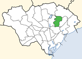 Pentwyn (electoral ward) electoral division of the unitary authority of Cardiff
