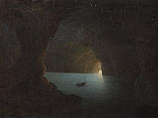 The Blue Grotto on Capri