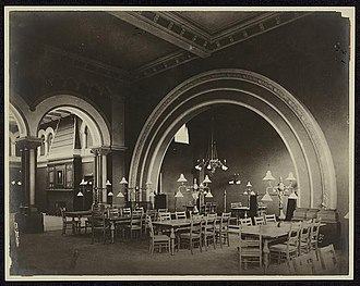 Carnegie Free Library of Allegheny - Image: Carnegie Library Allegheny 1900