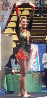 Carolina Rodríguez Spanish rhythmic gymnast