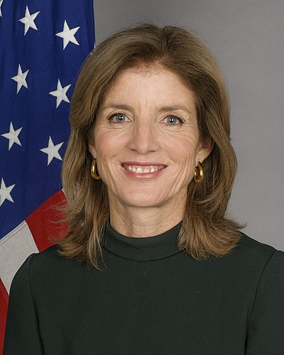 Caroline Kennedy, American author and diplomat