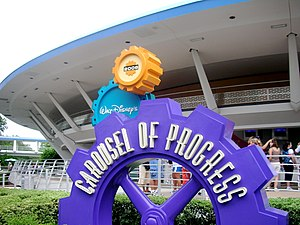 Walt Disney's Carousel of Progress in Tomorrow...