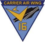 Carrier Air Wing 16 (US Navy) insignia 1963.png