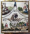 Carta da gioco con arlecchino, XVIII-XIX sec. ca..JPG